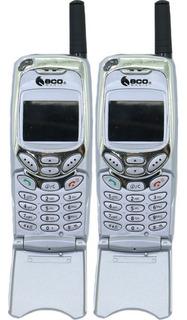 Telefone Sem Fio Longo Alcance Eco Mania 2 Monofones Em-628