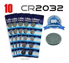 Bateria Cr2032 3v , Placa Mãe,calculadoras Hp,10 Unidades