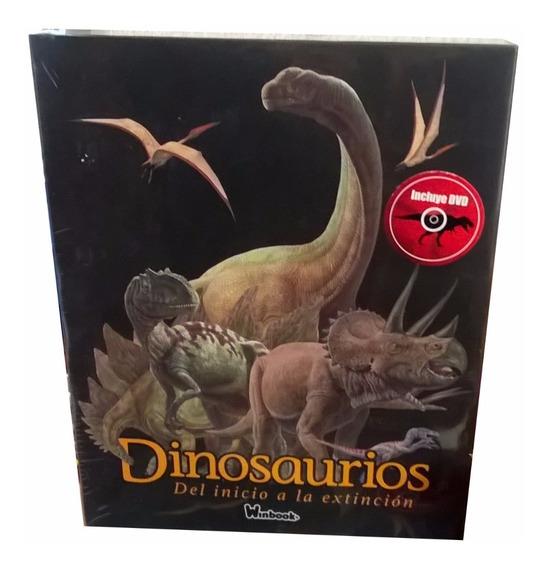 Libro Enciclopedia Dinosaurios Del Inicio A La Extinción Td