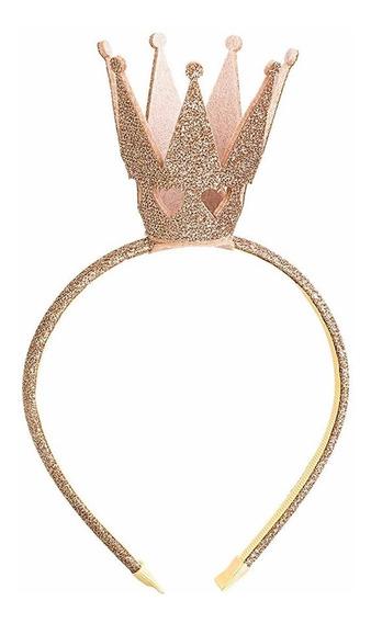 Diadema Con Corona Brillante