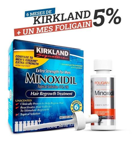 Imagen 1 de 4 de 7 Meses De Minoxidil 5% Tópico | Sellados | 100% Originales