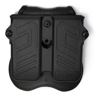 Porta Carregador Duplo Universal 9mm .40 .45 Cytac Mpu
