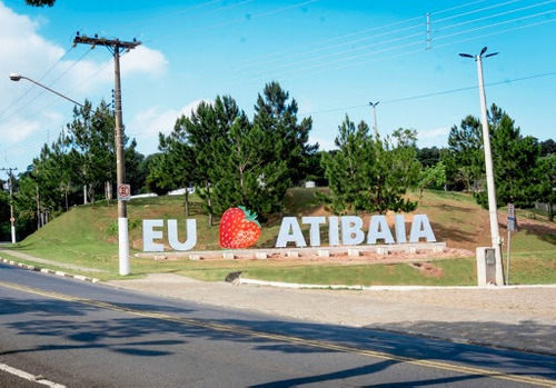 Imagem 1 de 4 de Terreno Com 500m2, Totalmente Plano, Região De Atibaia.