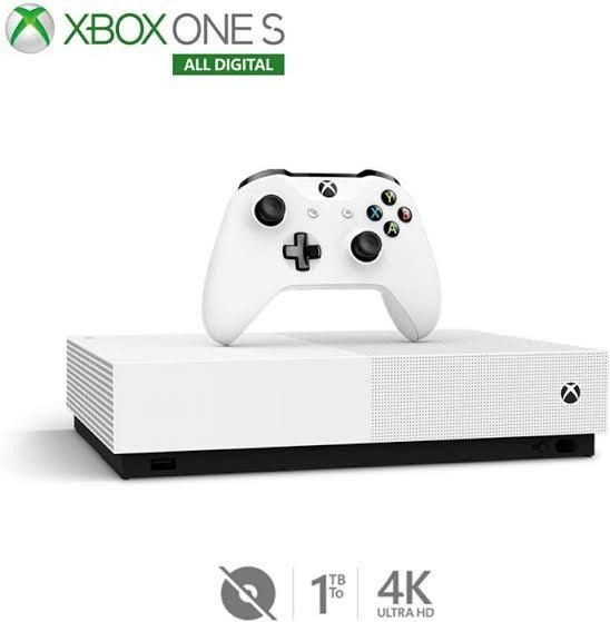 Xbox One S 1 Tb All Digital Edition - Sem Drive Midia Fisica