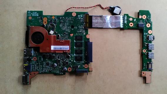 Placa Mãe Netbook Asus R103b - Completa - Com Defeito