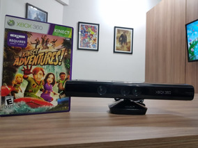 Kinect Xbox 360 Com Jogo - Original - Semi Novo