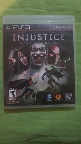 Jogo Injustice - Gods Among Us (ps3)