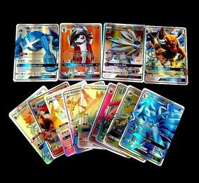 Kit Lote 30 Cartas Pokemon : 25 Gx + 5 Mega Ex