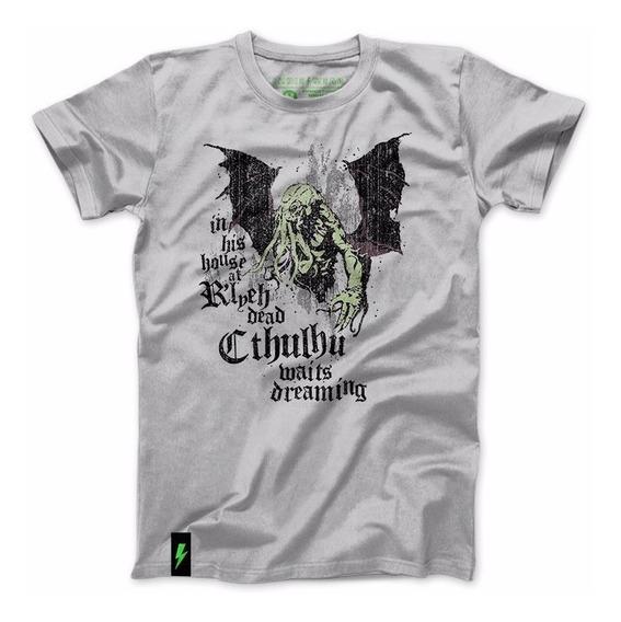 Playera Cthulhu 9 Lovecraft Horror Neconomicon