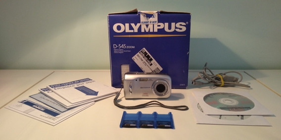 Câmera Digital Antiga Olympus D-545 Zoom Completa!