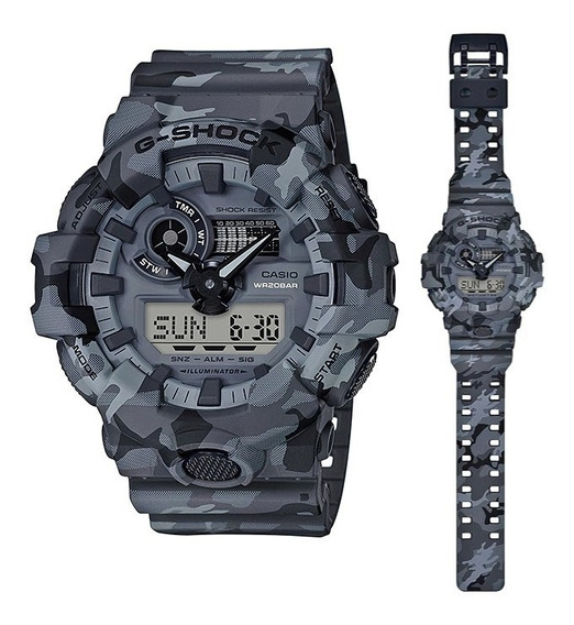 Relógio Casio G-shock Ga-700 Ga700 Camuflado 100% Original