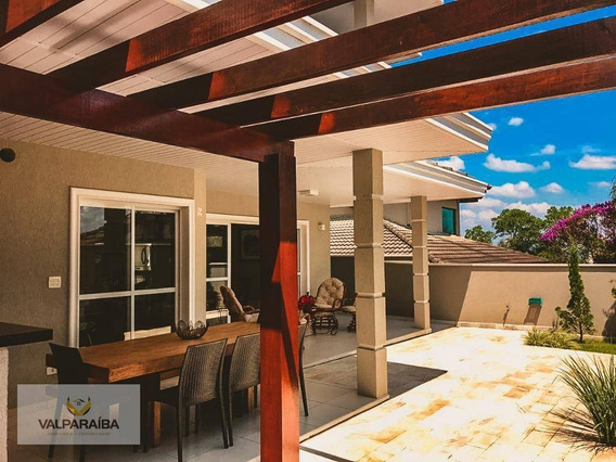 Casa Com 4 Dormitórios À Venda, 267 M² Por R$ 1.330.000 - Urbanova - São José Dos Campos/sp - Ca0114