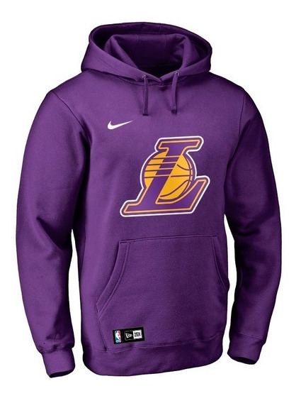Moletom Lakers Blusa De Frio Basquete Masculino Nba Los Angeles Lakers **