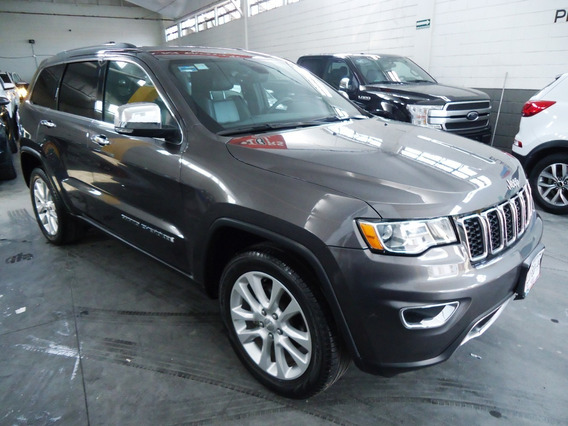 Jeep Grand Cherokee 3.6 Limited Lujo V6 4x2 At 2017