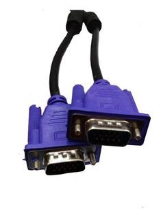 Cable Vga M - M Proyector Monitor Nucleos De Ferrita 1.5mts