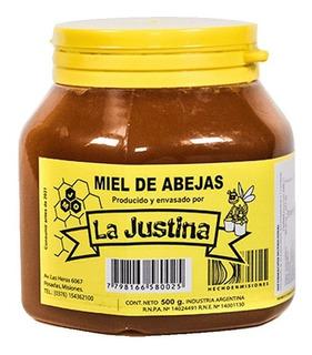 Miel Pura De Abejas La Justina X500 Grs.