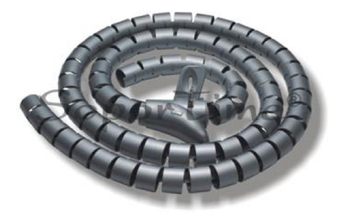 Organizador De Cable Espiral 28 Mm X 1.25 Mts