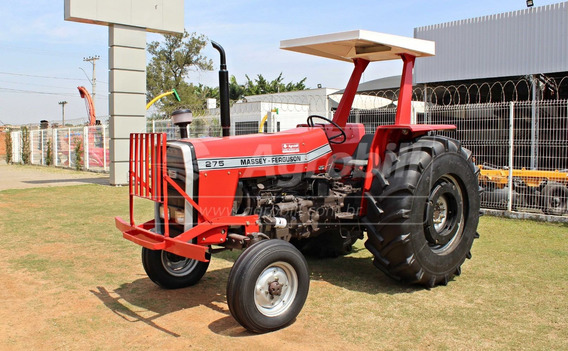 Trator Massey 275 4×2 Ano 1988 Com Pneus Encapados (galochas