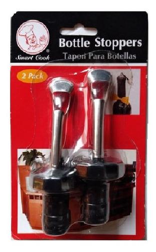 Imagen 1 de 1 de Tapon Para Botellas Smart Cook Pack De 2 Piezas (nuevo)