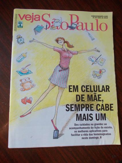 Veja São Paulo - Em Celular De Mãe, Sempre Cabe Mais Um