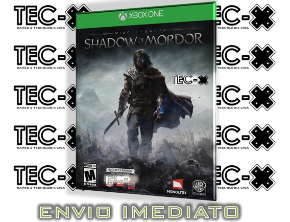 Shadow Of Mordor Xbox One Digital Online Terra-média Sombras