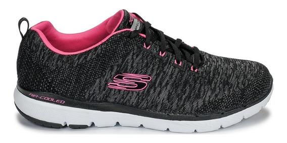 Zapatillas Skechers Mujer - Flex Appeal 3.0 - Ahora 12
