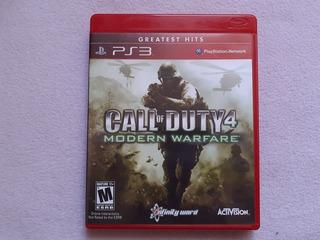 Call Of Duty 4 Modern Warfare Greatest Hits Para Ps3