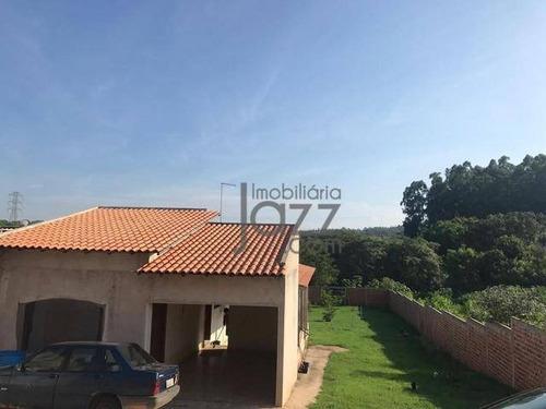 Chácara Com 3 Dormitórios À Venda, 1000 M² Por R$ 450.000,00 - Chácaras Cruzeiro Do Sul - Campinas/sp - Ch0467