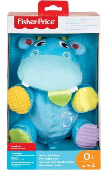 Juguete Para Bebé Hipopótamo Bolita/ Pelota De Fisher Price