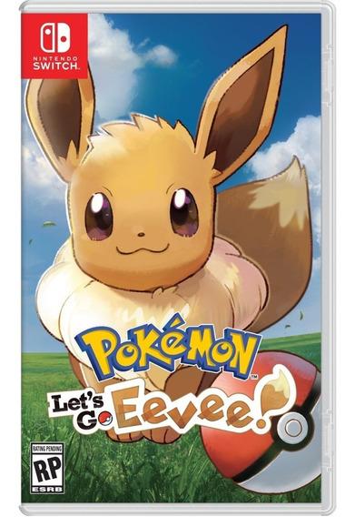 Pokemon Lets Go Eevee Switch Pronta Entrega Mídia Física