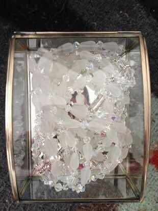 Lazo De Boda De Cristalería