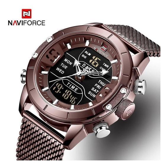 Relógio Naviforce 9153 Á Prova D