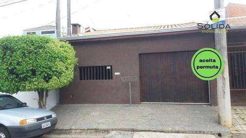 Imagem 1 de 26 de Casa Com 3 Dormitórios À Venda, 140 M² Por R$ 375.000,00 - Parque Almerinda Chaves - Jundiaí/sp - Ca0187