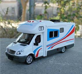 Miniatura Sprinter Motorhome 1/32 Metal Pneus De Borracha