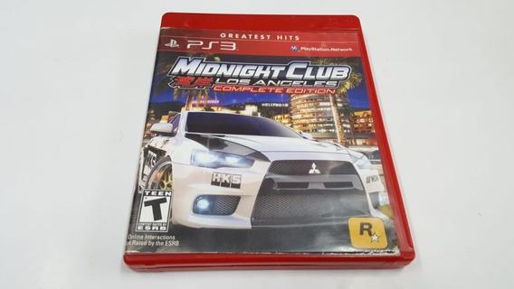 Midnight Club Los Angeles Complete Edition - Ps3 - Original