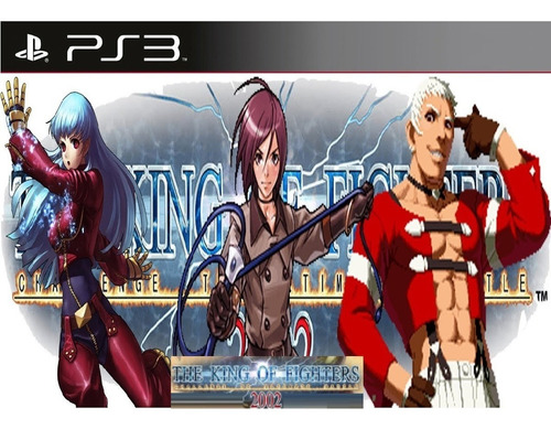 The King Of Fighters 2002 Ps3 Psn Kof 2002 Play 3 Envio Ja