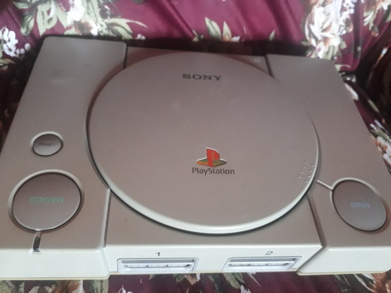 Playstation One Fat ( Leitor Cabo Flex Quebrado)