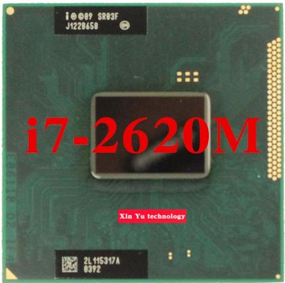 Processador Intel Core I7 2620m Processor 4m Cache Fcbga1023