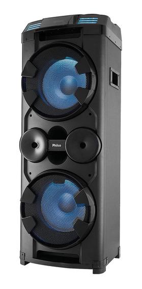 Caixa Acústica Philco Pcx20000 1800w Bluetooth Função Luzes
