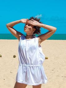 Saída De Praia Vestido Camisita