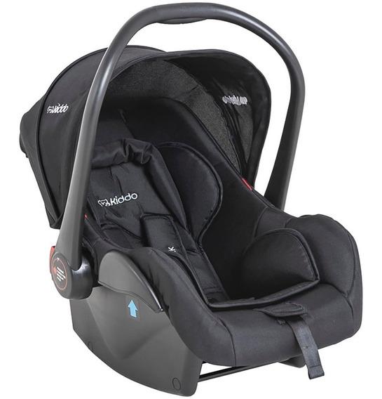 Bebê Conforto Casulo Click Preto Com Base Para Carro Kiddo