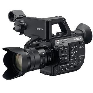 Cámara Sony Super 35 Con Videocámara Profesional Con Lentes