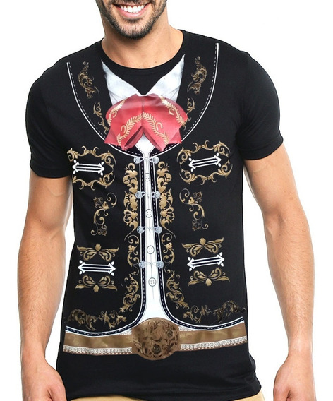 Playera Mariachi Mexicano Super Oferta