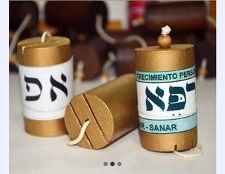 Pendulo Hebreo Color Oro Mayoreo 5 Piezas Envio Gratis