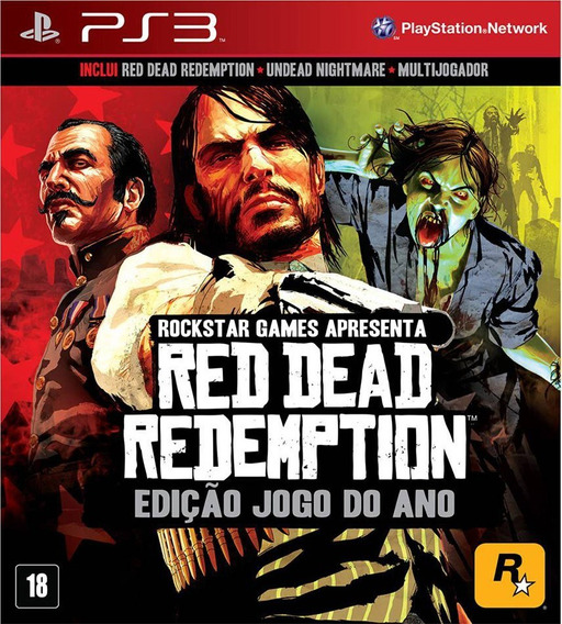 Red Dead Redemption E Undead Nightmare - Jogos Ps3 Playstation 3