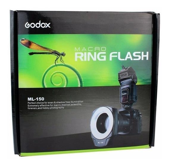 Godox Circular Macro Ringflash Ml-150 Canon Sony Nikon Univ.