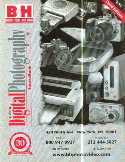 Catalogo Da Loja B&h Photos Em Nova York - Digital Photos