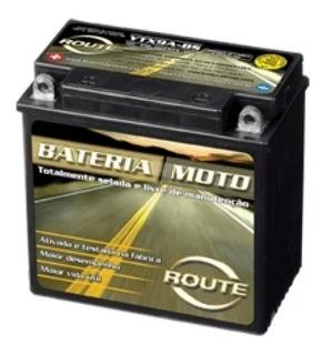Bateria Route Ytx9a-bs ( 12n7-4b) Gel Motoscba