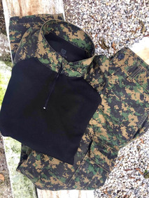 Combat Shirt + Calça Bélica Combat: Padrão Marpat