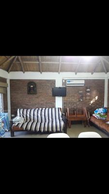 Casa 2 Ambientes, Baño, Parrilla Y Pileta De 8x4.